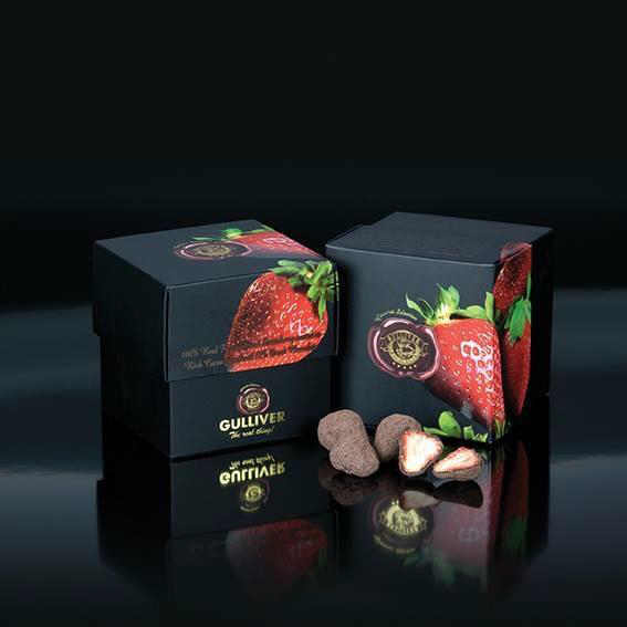 Freeze Dried Strawberry Chocolate