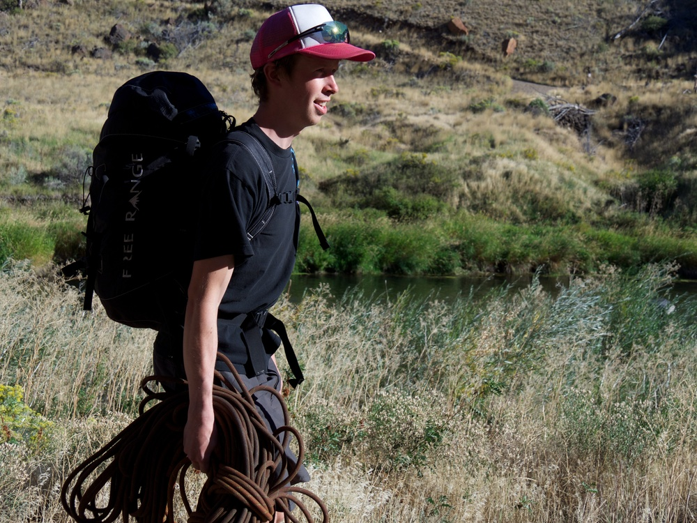 Tosch Roy - Free Range Equipment's owner & founder.