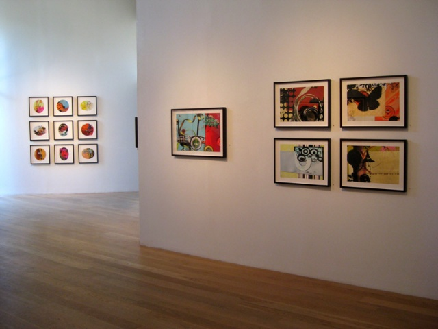 "Installation View,  ""a lotta bit"" exhibition at Moody Gallery, Houston, TX 2007"