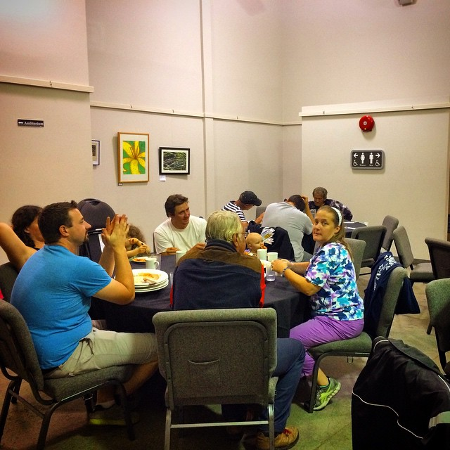 Cloverdale Community Kitchen was packed tonight #cloverdalelife