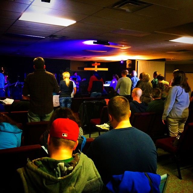 Wednesday night meeting with guest speaker John Thomas #GodletyourGlorycome