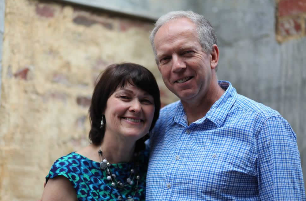 Adrian & Lesley join us Sunday morning, November 25th, 10:30 am.