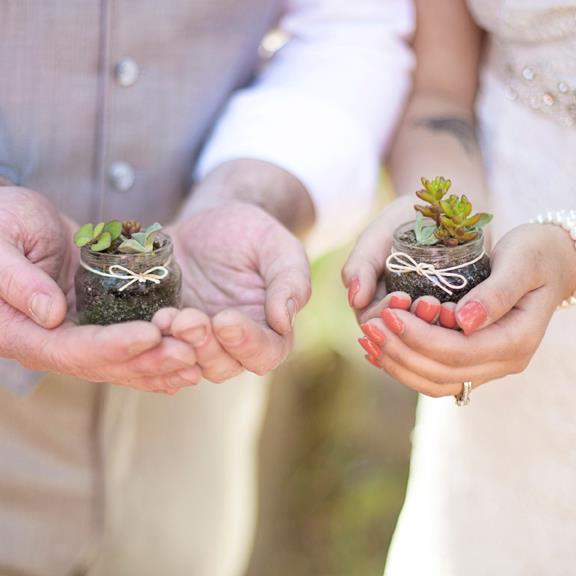 A Succulent Wedding
