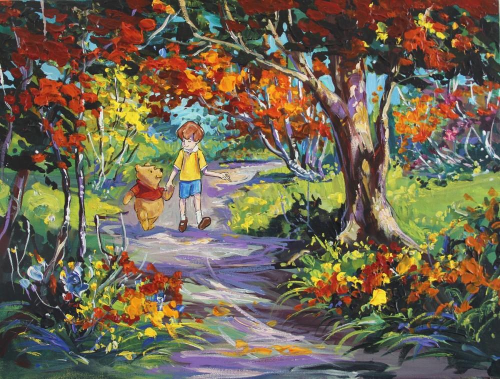 Steve Barton Disney Art