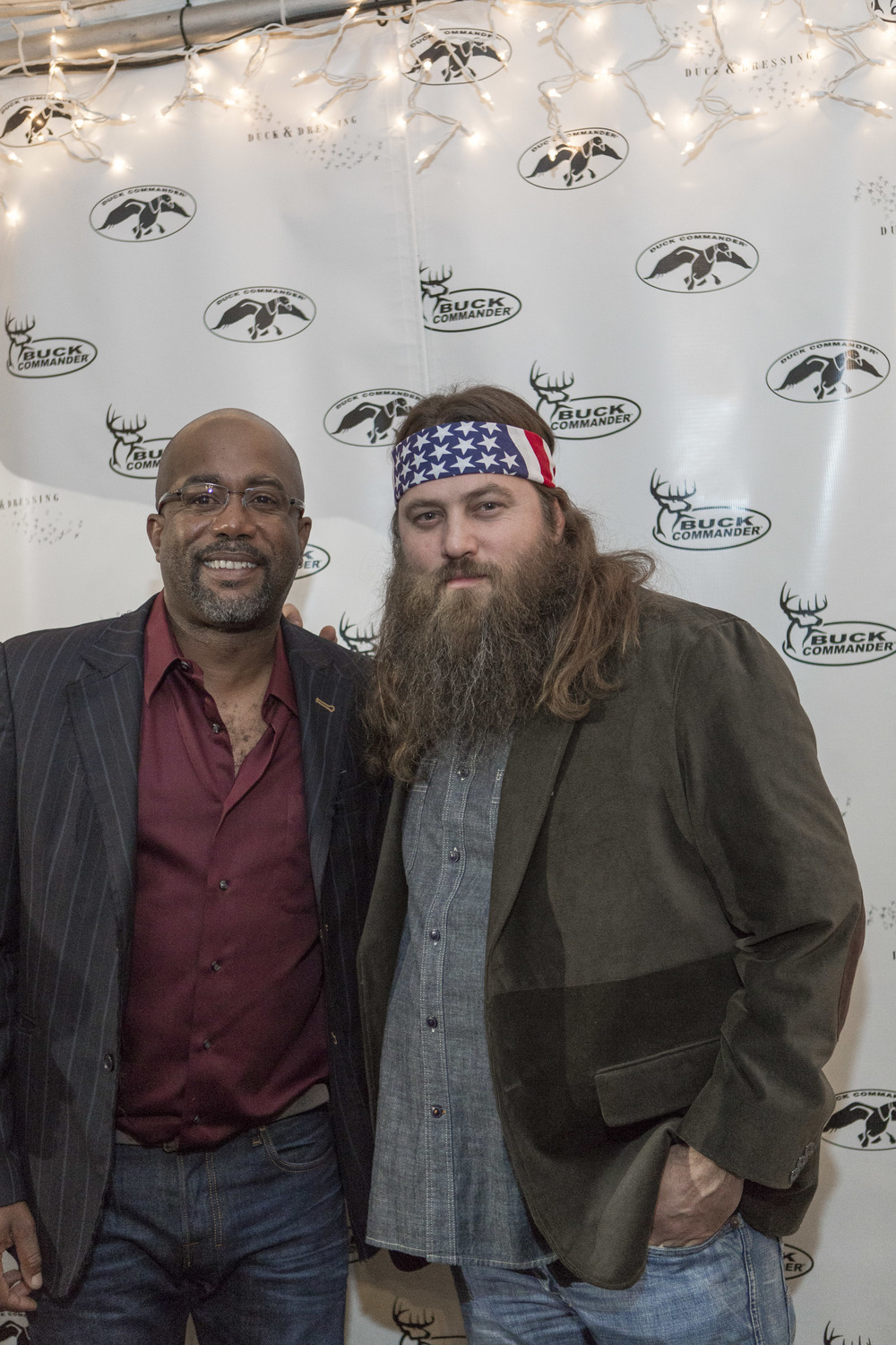 Darius Rucker & Willie Robertson