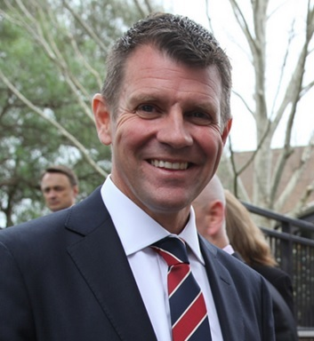 Guest of Honour and Keynote Speaker The Hon. Mike Baird MP, Premier of New South Wales