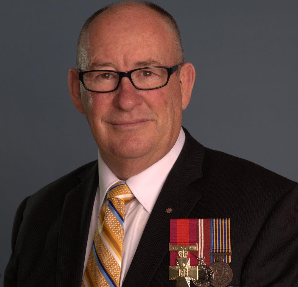 Allan Sparkes - Foundation Patron
