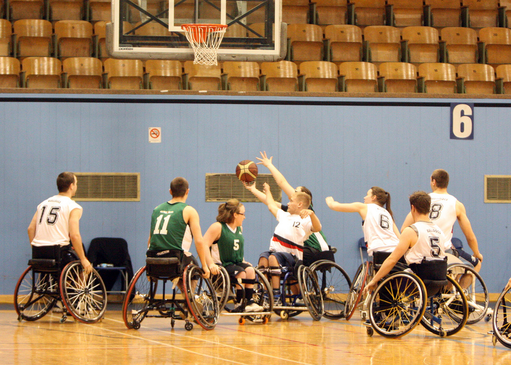 Bulldawgs wheelchair basketball starts Thursday September 25 8:30-10:00pm at TCC