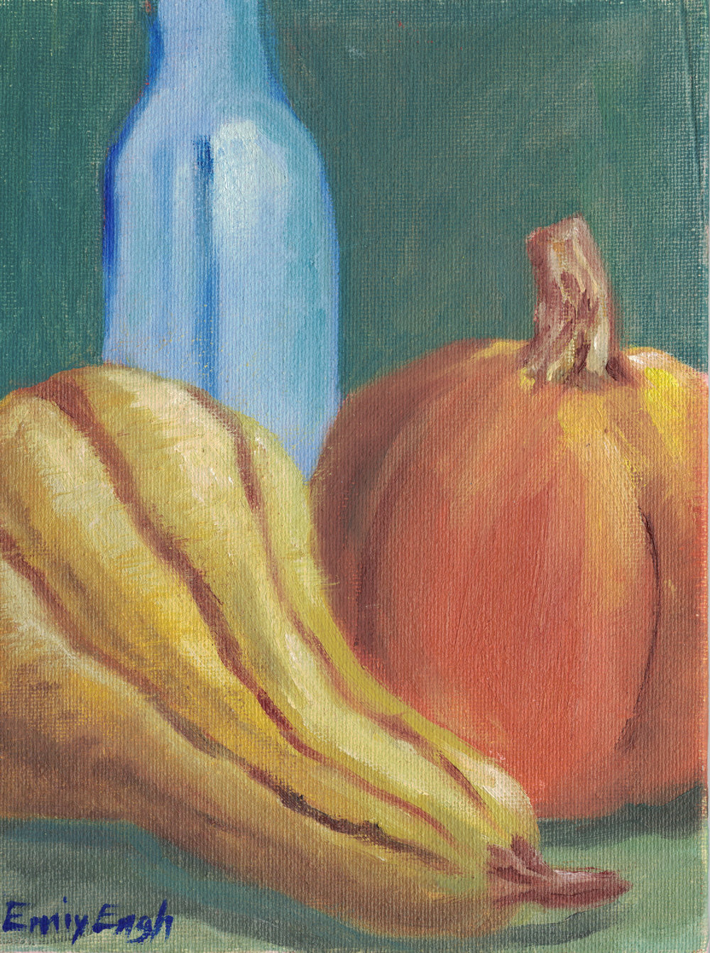 Squash 6X8 Inch    Purchase Original Painting Here