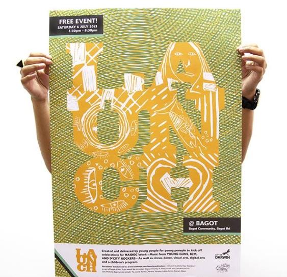LAUNCH @ Bagot poster