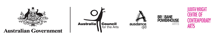 This project has been assisted by the Australian Government through the Australia Council, its arts funding and advisory body.