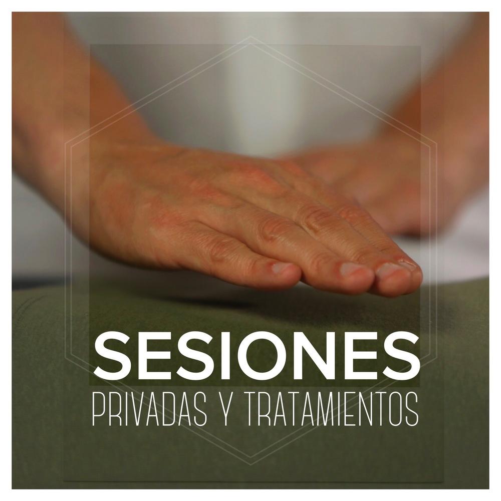 Sesiones privadas y tratamientos
