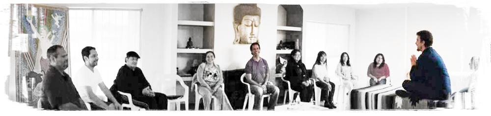 Taller de Reiki con Matías Mahia en Casa Dakini - Tijuana BC. México - 2013