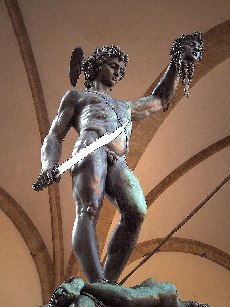 Figure 4.  Perseus with the Head of Medusa