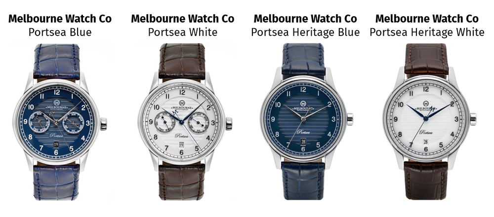 Source:     Melbourne Watch Company