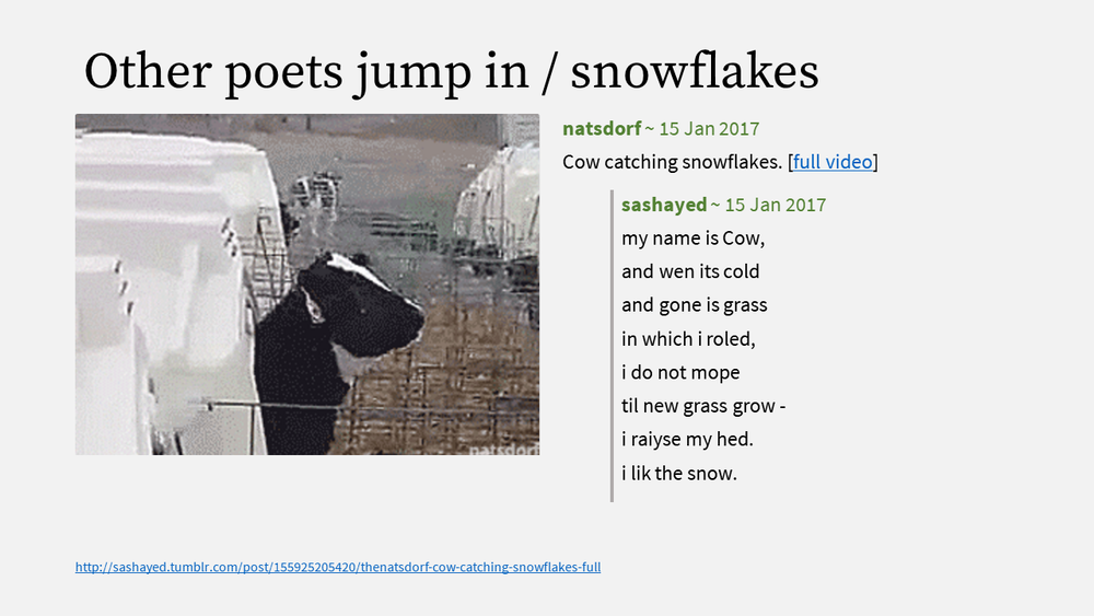5 - Other poets jump in - snowflake.PNG