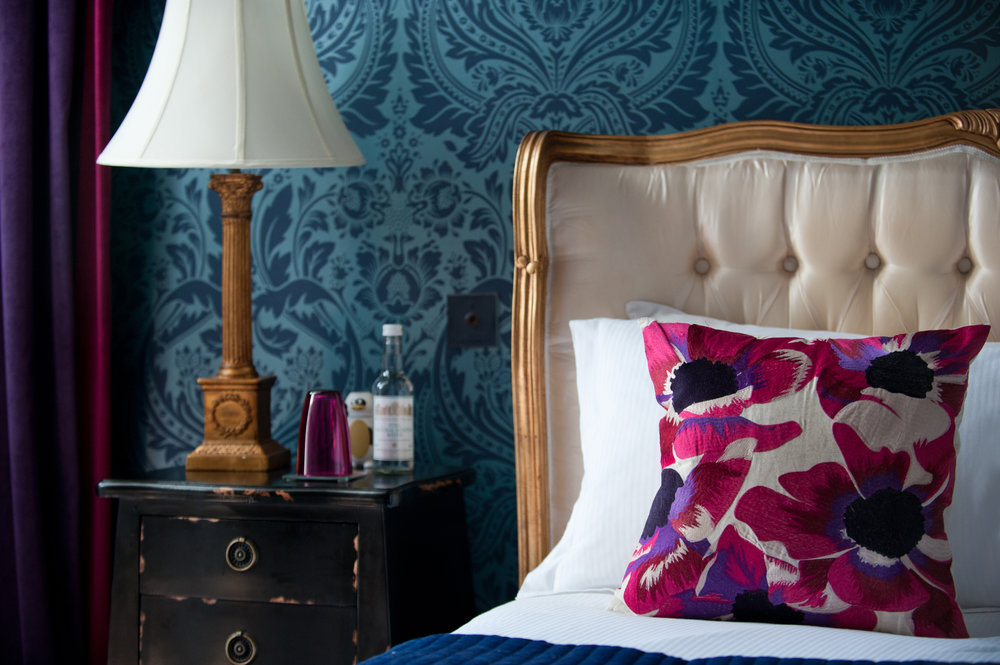 …..in one of our nine individually styled guest bedrooms