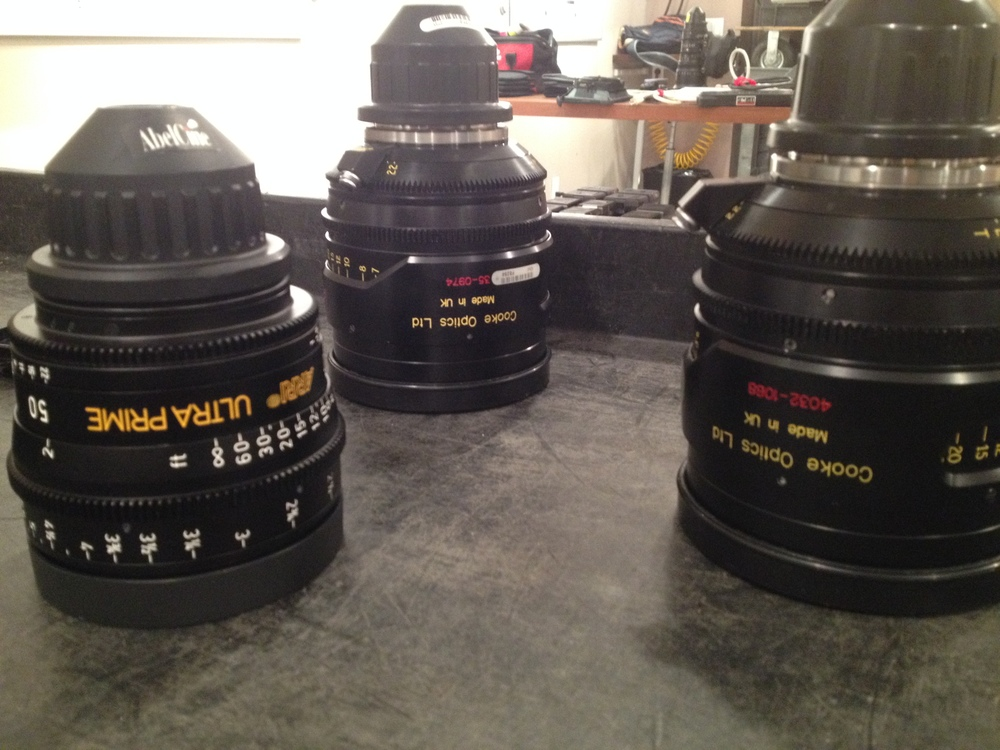 Cooke lenses for the camera