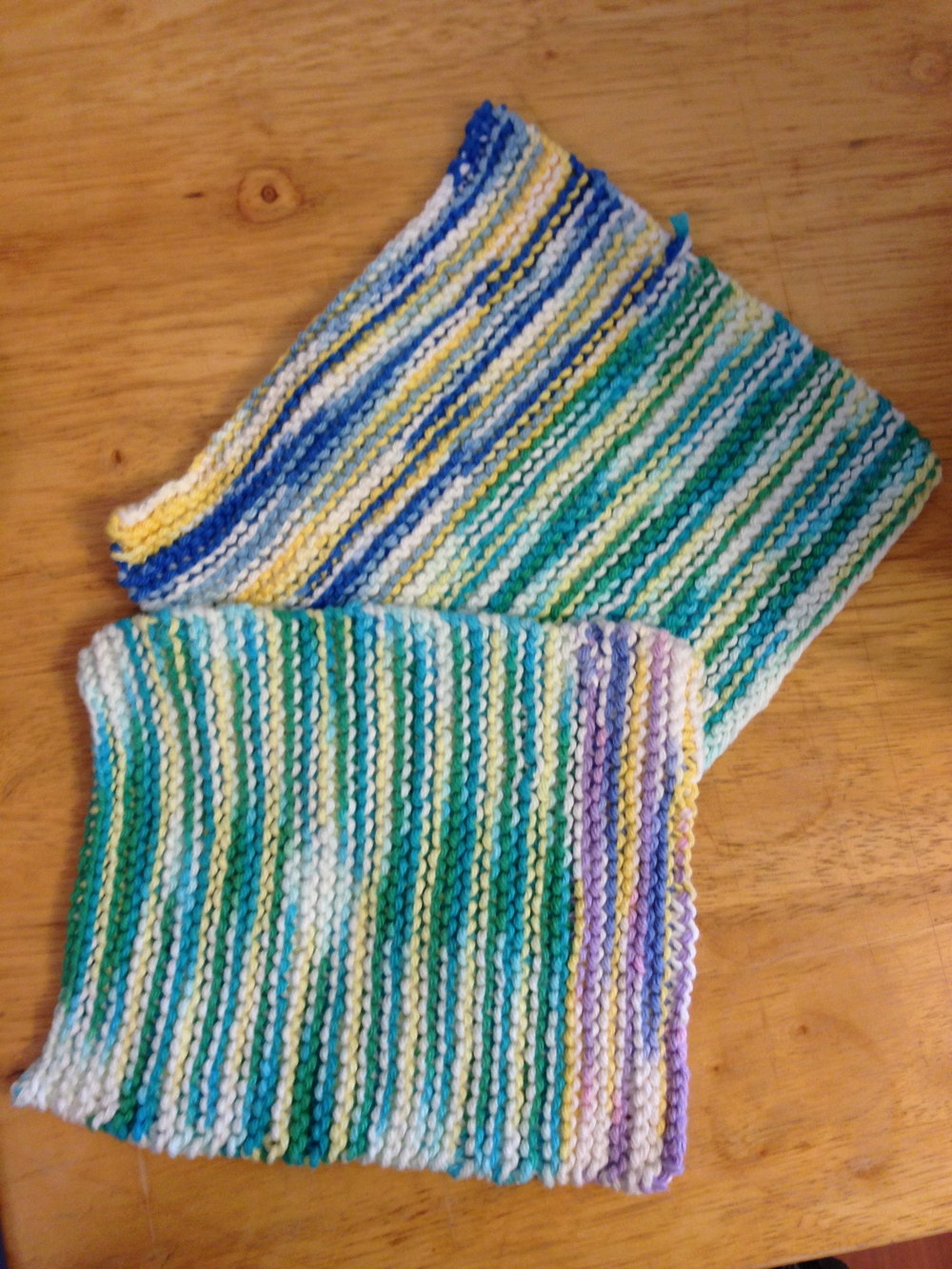 The First Dishcloths