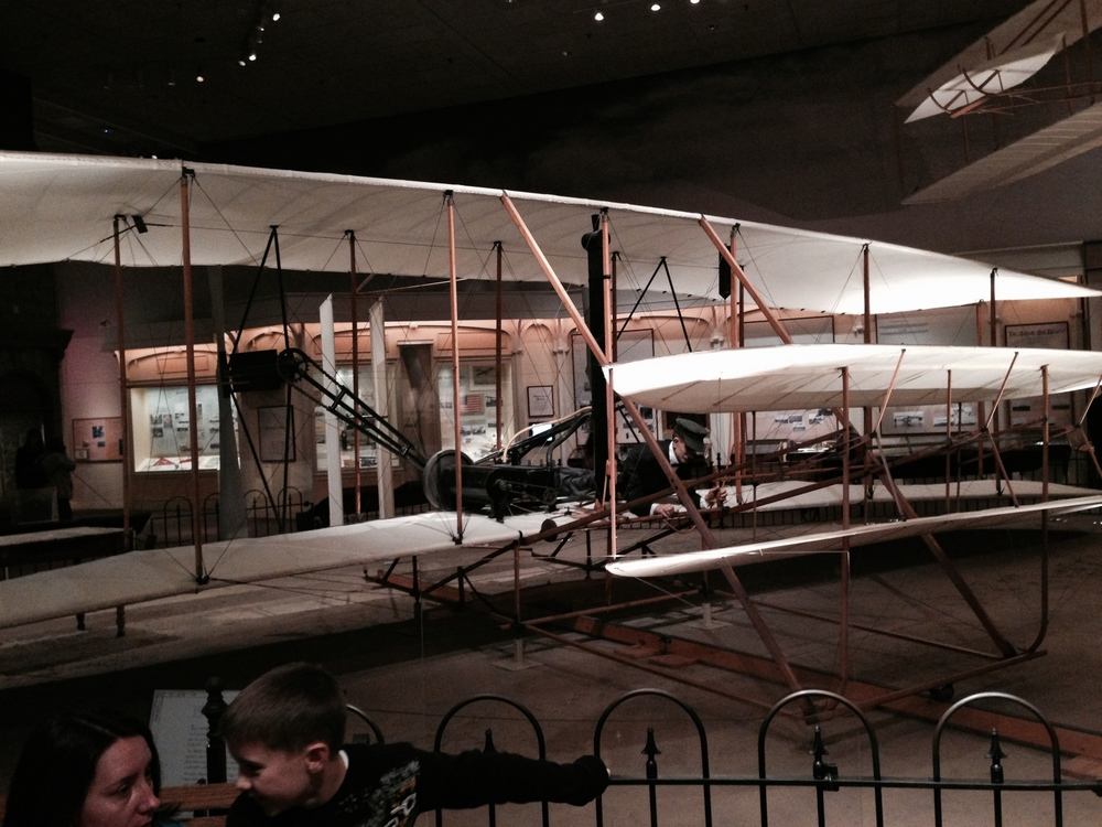 Original Wrights Bros Plane