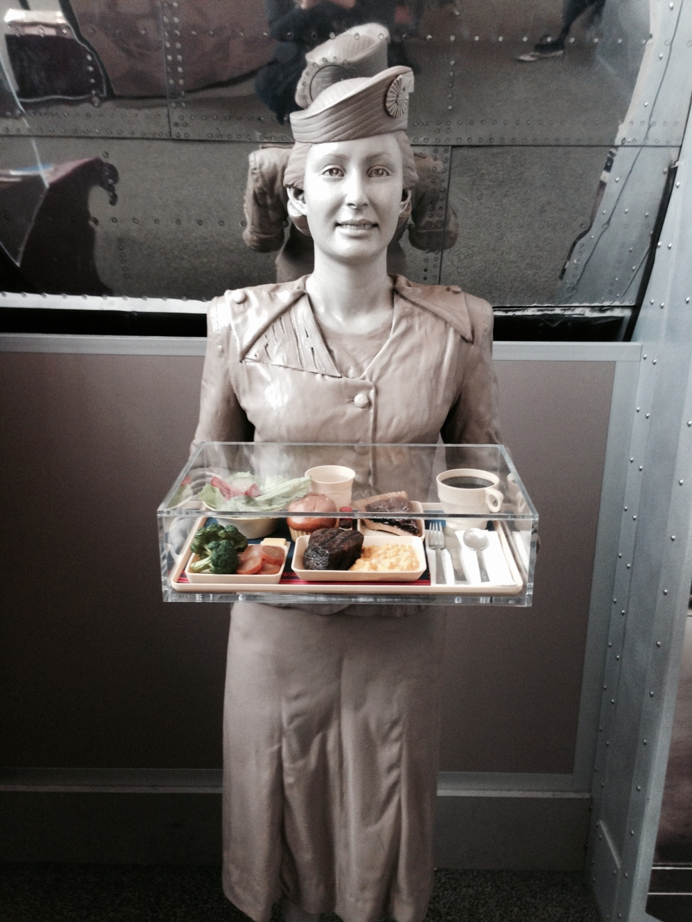 Old school Stewardess.