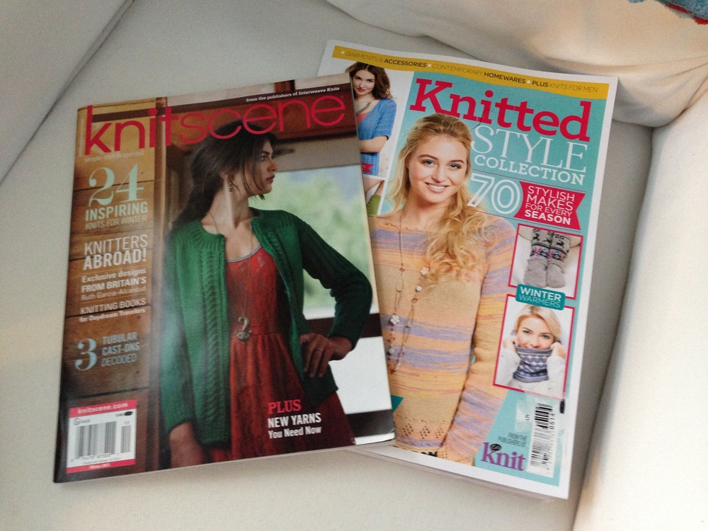 The new knitting mags