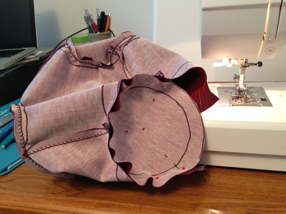Sewing leather = Easy
