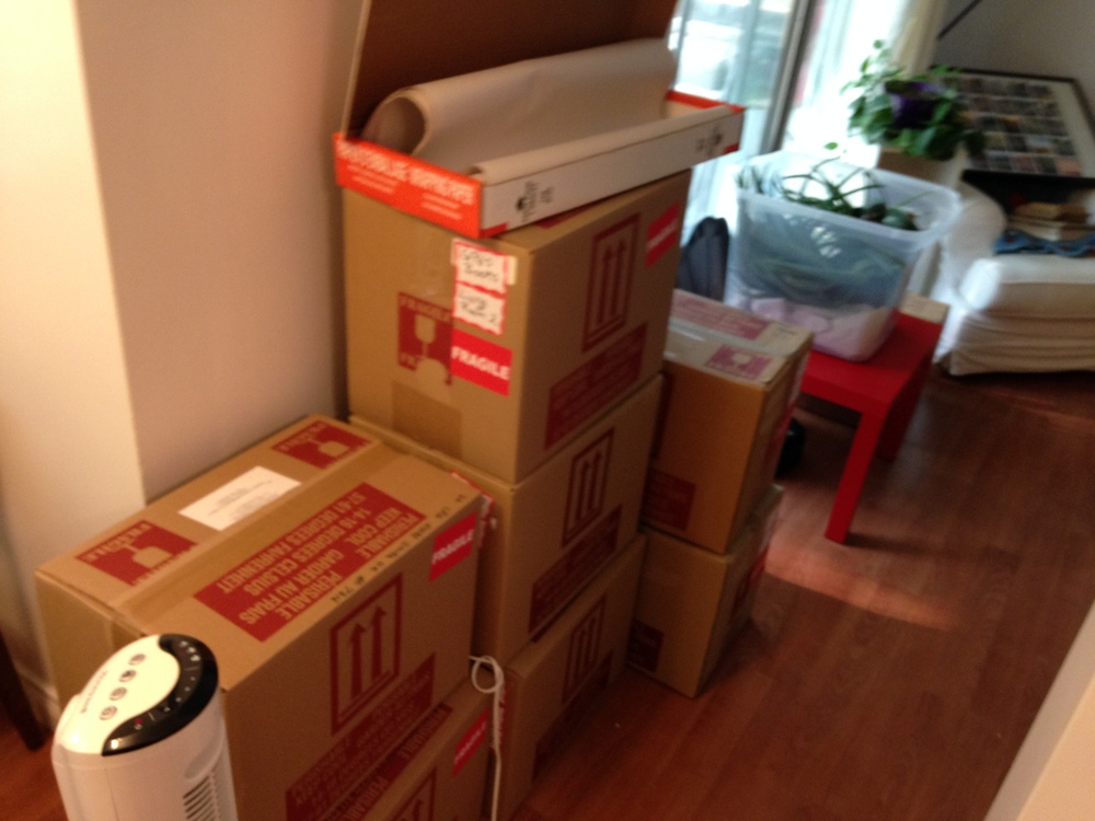 Boxes Piling Up!