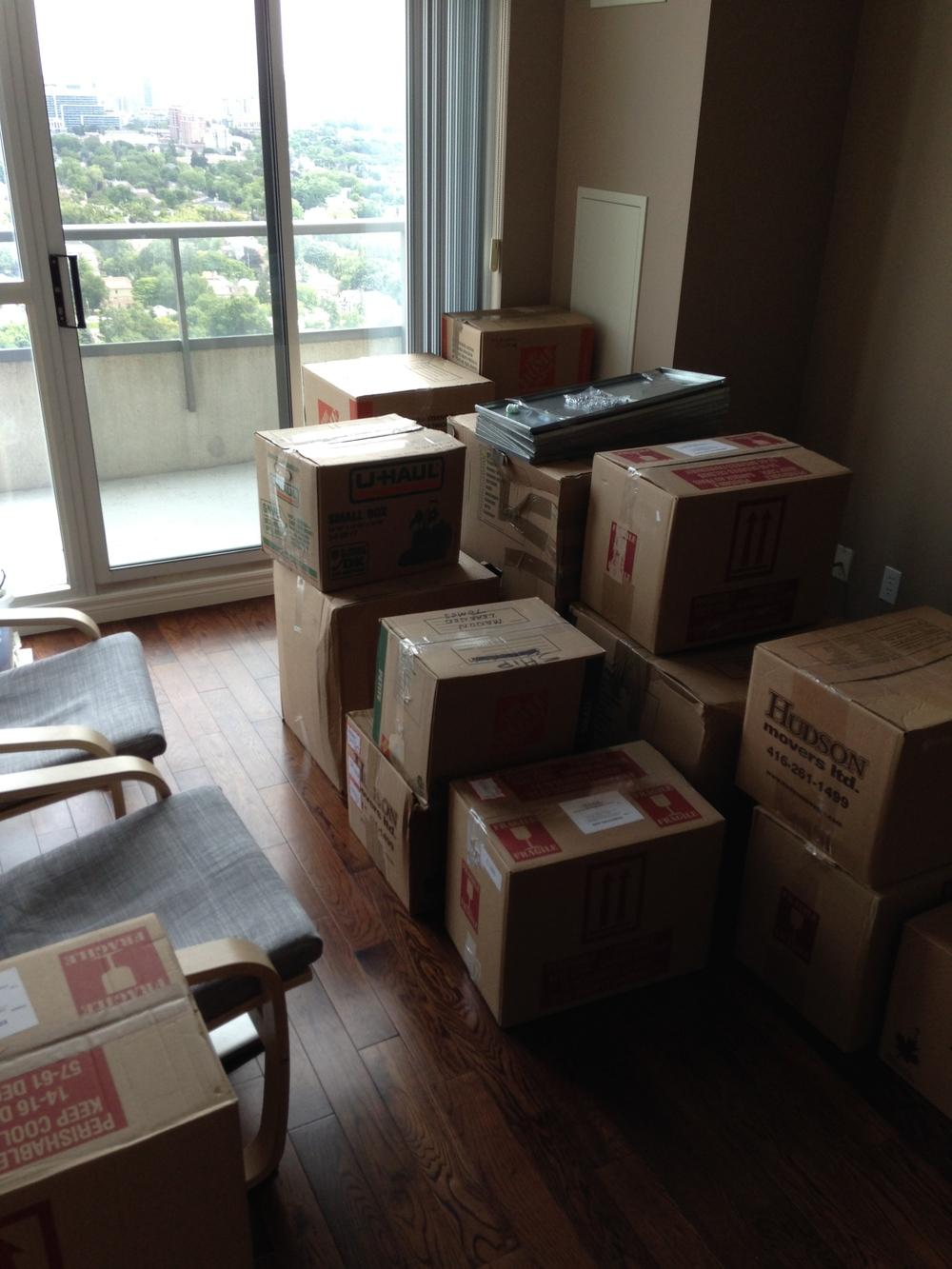 Boxes of Stuff