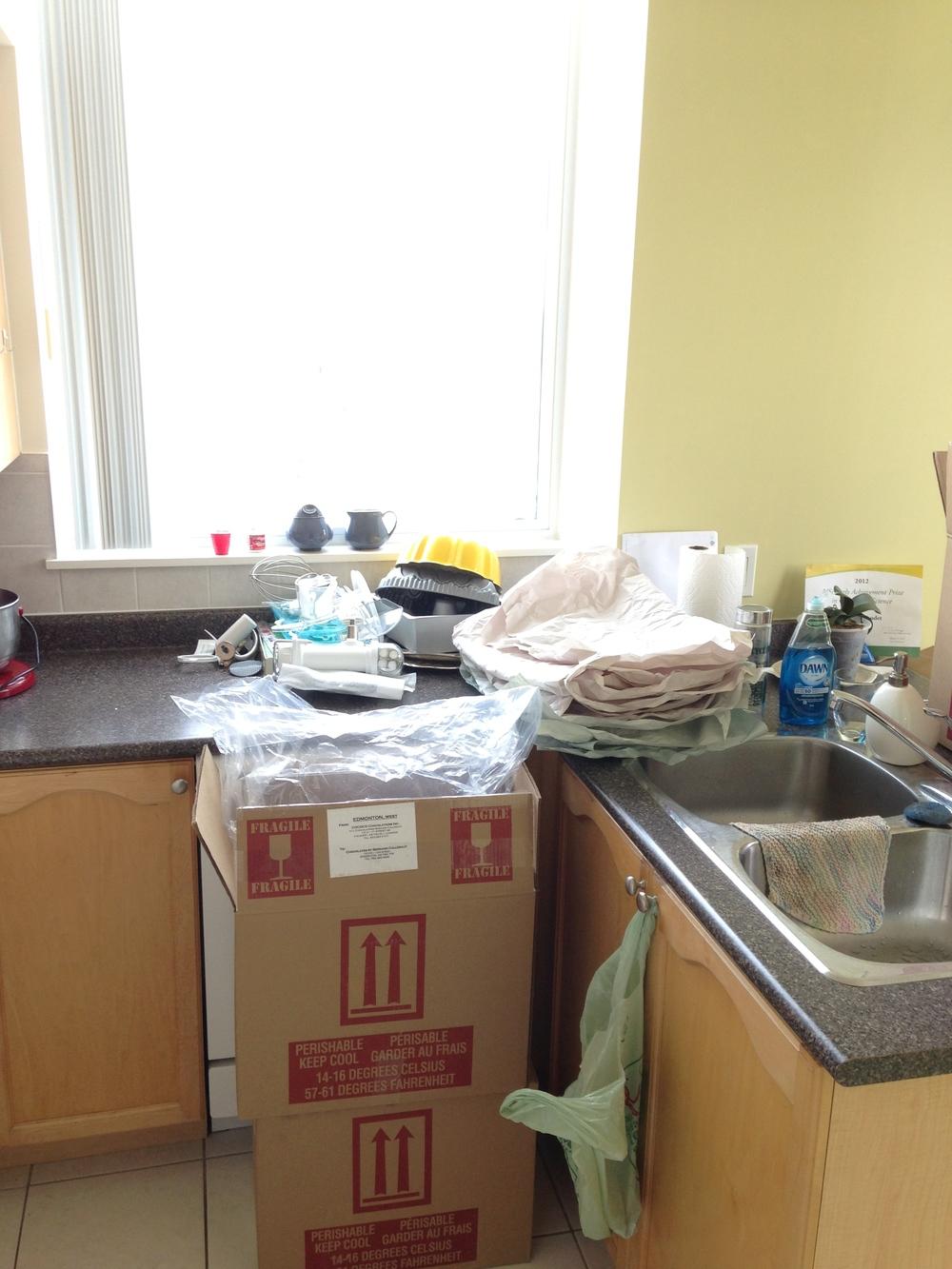 Unpacking my kitchen