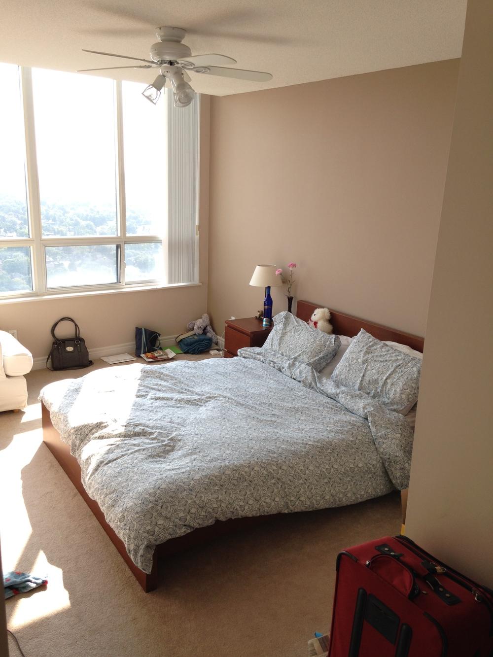Bedroom all set up
