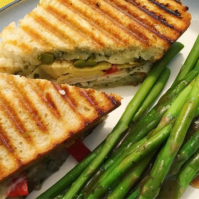 Panini life. #dinner #panini #sandwich #moreappliancesplease