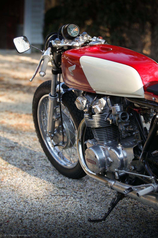 1973 Honda CB450 Bob Hansen Cafe Racer Northeast Sportscar