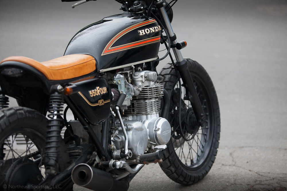 1978 Honda CB550 Brat Tracker For Sale At Northeast Sportscar