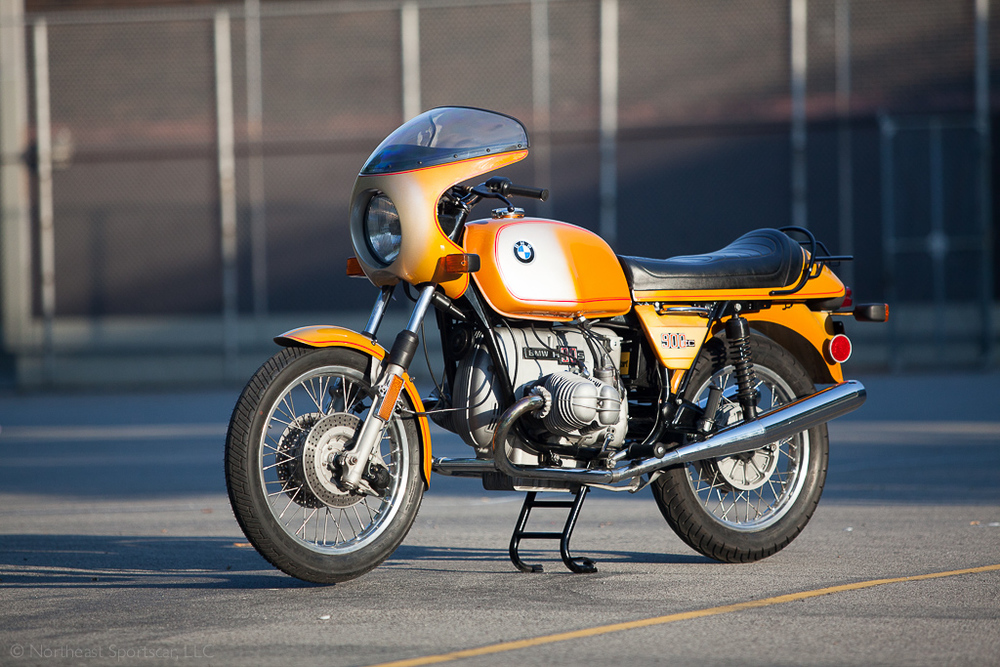 76 bmw r90s daytona orange
