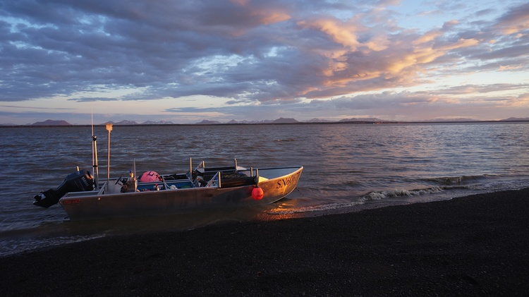 Nushagak Point sunrise