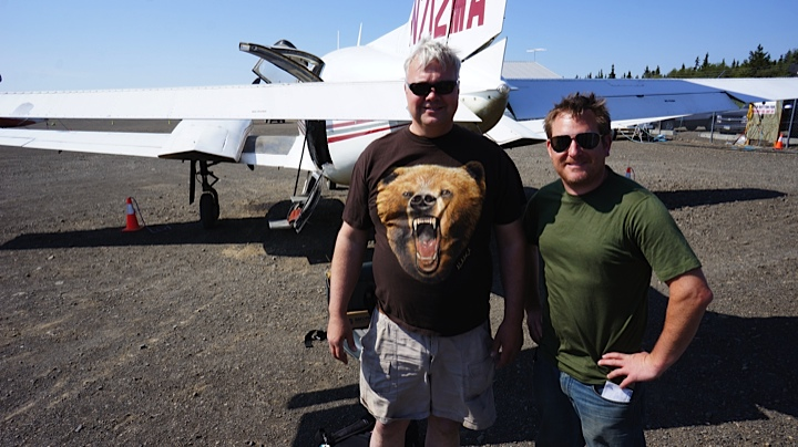 The bear/pilot and me