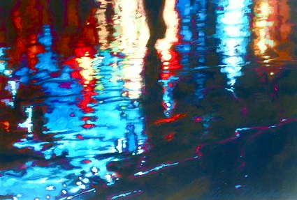 "A walk on water 24""x36"""
