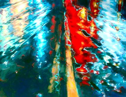 """River road 36""""x48"""""""