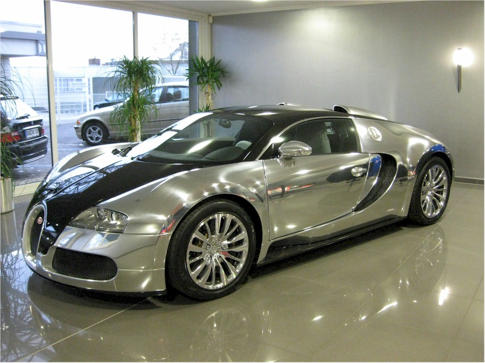 2008 Bugatti Beyron EB16/4 Pur Sang