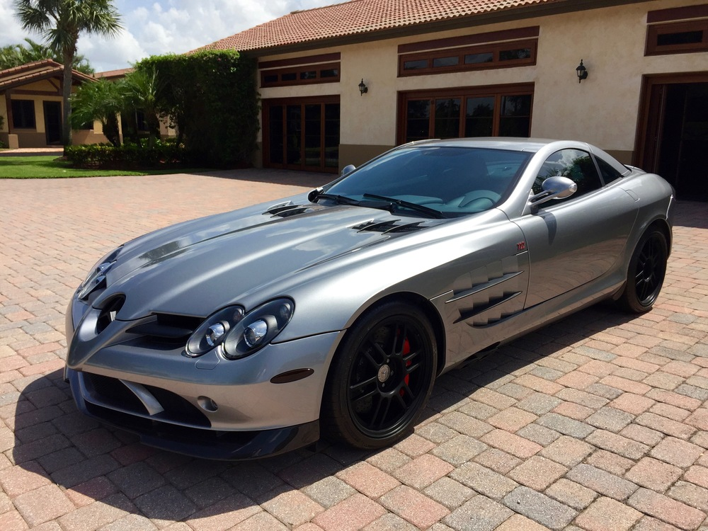 2007 Mercedes Benz Slr 722 S The Car Experience