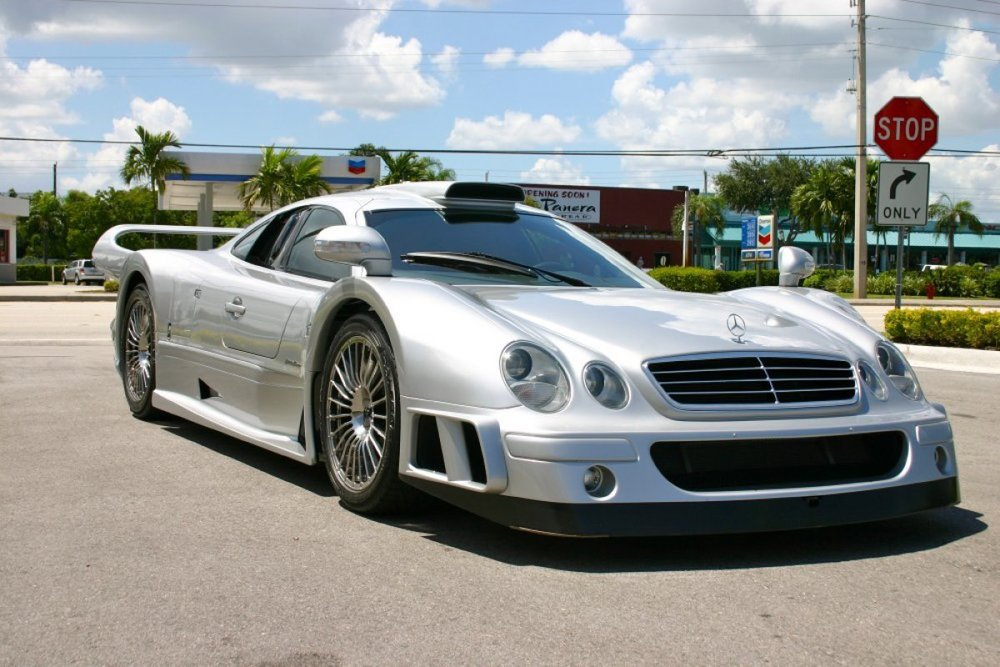 2000 Mercedes-Benz CLK-GTR SS -  SOLD