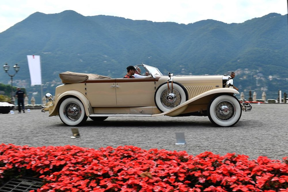 1930 Duesenberg Model J Convertible Berline