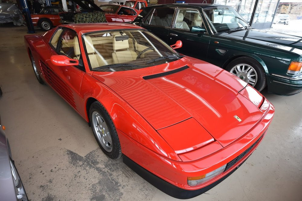 1989 Ferrari Testarossa The Car Experience