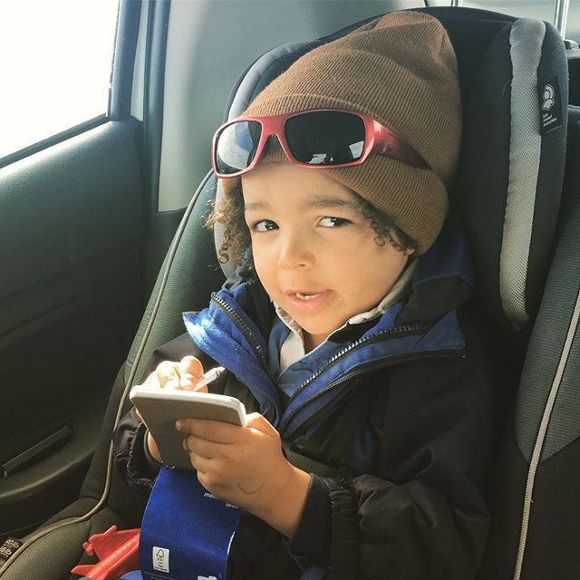 Time for a winter roadtrip to the marsh. : : #hipster #toddler #fieldnotes #science #biology #marsh #adventure #winter #landscape #nature #glacier #ice #cave #mammoth