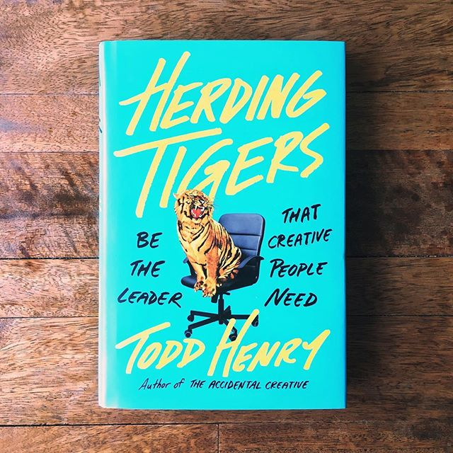 """The best way to learn something is to teach it."" First book of 2018! #HerdingTigers"