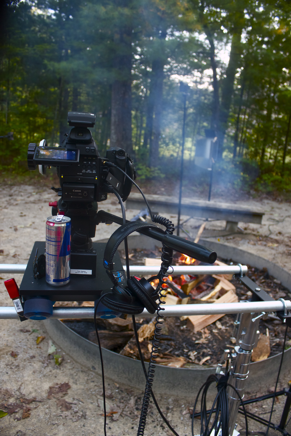 Canon C100, Dana Dolly, Red Bull