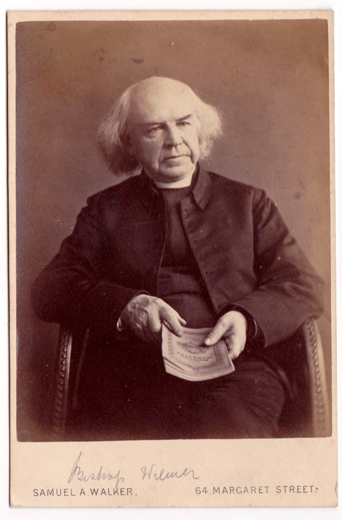 Joseph Wilmer, first rector of Saint Mark's.