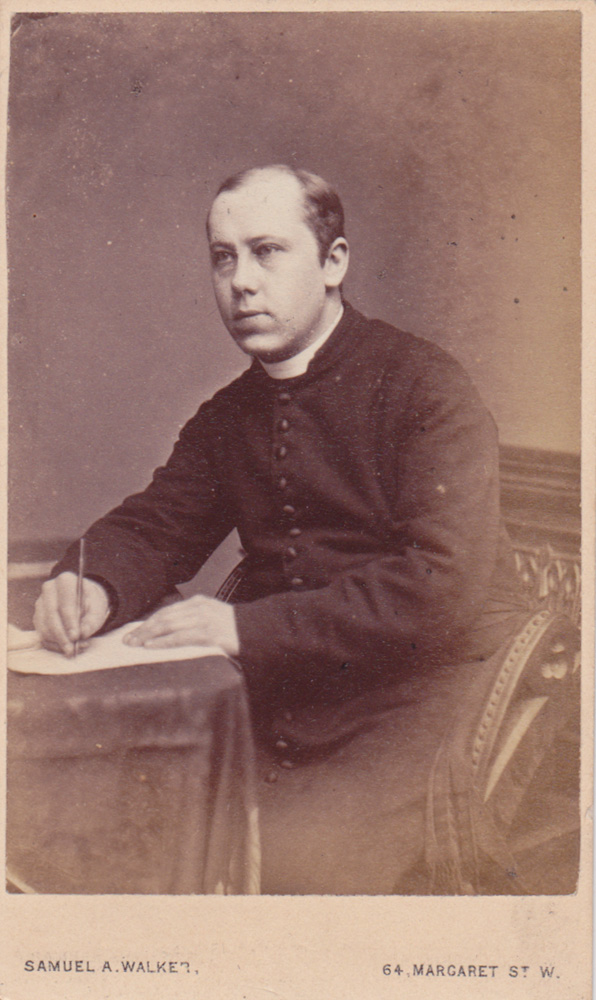Saint Mark's sixth rector, Alfred Mortimer.
