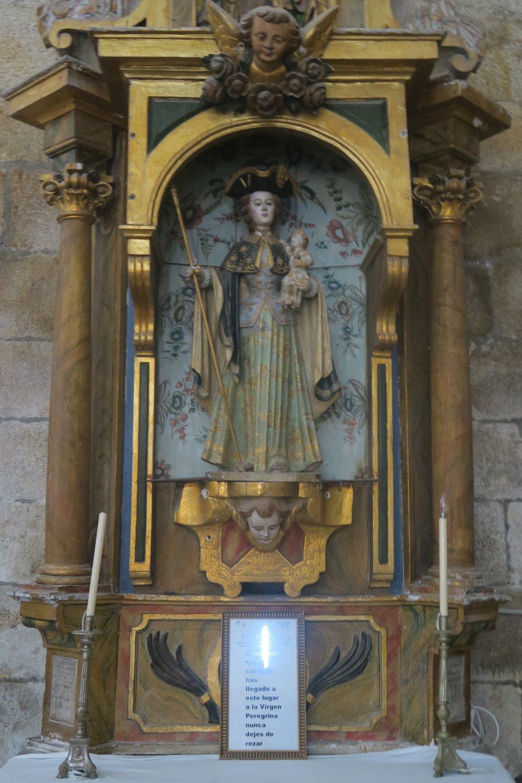 Virgen Peregrina, Xunqueria de Ambia